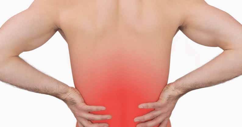 bolečine v hrbtu